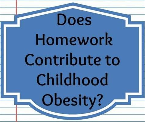 Obesity Among Teenagers - Research Paper by